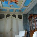 plafond peint dans le gout de tiepolo