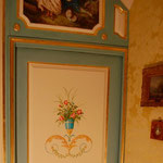 peintures de boiserie,passage de porte