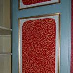 interieur de porte peinte