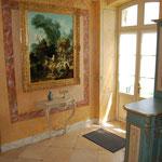 murs peints et patinés