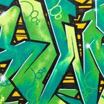 Graffiti an Fassaden