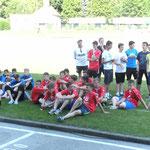U15 der JFG Oberes Pegnitztal, Pfingsten 2014, beim internationalen Turnier in Österreich/Kärnten. Ausrichter AC Wolfsberg (Bundesligist AT)