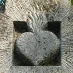Herz an der Vogelsbergkirche