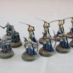 Humains et Elfes de la dernière Alliance SDA - Table de jeu