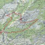 Bratsch Pitsch Bach-Trail Karte