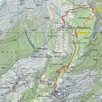 Fäärlichrachu-Trail Karte