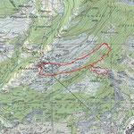 Teelwald Schwinjitotz - Trail Karte