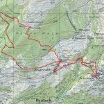 Engersch Niwen-Trail Karte
