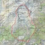 Einig Alichji-Trail Karte