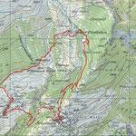 Z'Opmisch Hubil-Trail Karte