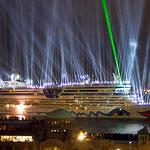 "Taufe des Kreuzfahrtschiffes ""AidaDiva"", Canon EOS 300D, Vivitar 1:2,8/28 mm"