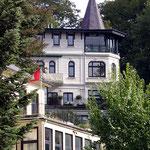 Villa im Treppenviertel in Hamburg Blankenese, Canon EOS 300D, Kit-Objektiv 1:3,5-5,6/18-55 mm