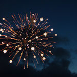 Feuerwerk in Wedel, Canon 300D, Vivitar 1:2,8/28 mm