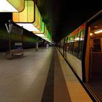 U Bahn Station Hafencity Universität, Canon EOS 500D, Tokina 1:4/12-24 mm