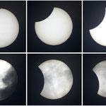Partielle Sonnenfinsternis am 1.08.2008, Refraktor 80/900 mm, Canon EOS 300D