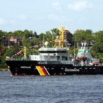 """Fischereischutzboot """"Seefalke"""", Canon EOS 300D, Pentacon 1:2,8/135 mm"""