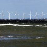 Offshore Windkraftanlage vor der Insel Samsö, Canon EOS 300D, Tair 3S, 1:4,5/300 mm