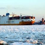 """Frachtschiff """"Grande America"""", Canon EOS 500D, Canon EF 1:4/70-200 mm L"""