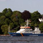 Küstenwachtboot der Bundespolizei, Canon EOS 300D, Pentacon 1:2,8/135 mm
