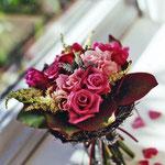 雑誌の撮影で制作した生花アレンジメント その2