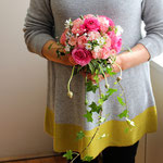 ウェディングの花 シャワーブーケ