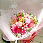 ミックスカラーの花束