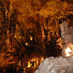 Grotte des Demoiselles,- riesig von innen