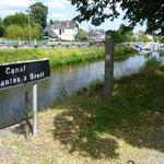 Weiter ging es entlang des Nantes - Brest Kanals