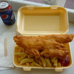 """Echt britische """"Fish n Chips"""""""