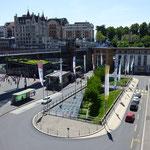 Lausanne,- Schickimicki am Genfer See