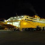 Meine Nachtfähre nach Sardinien