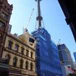 Der Sydney Tower mit einem sich langsam drehenden Restaurant.