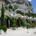 Grotte des Demoiselles,- unscheinbar von aussen