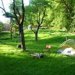 Nachtlager bei Esslingen