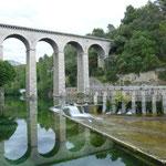 Fontain de la vaucluse, ein echt hübsches Örtchen mit Quelle, siehe Internet
