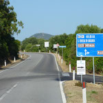 "On the road entlang der ""Costa Smeralda"""
