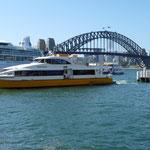 Der Coathanger im Sydney Harbour.
