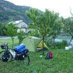 Wildzelten im Aosta Tal