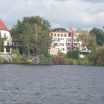 Blick vom Müggelsee auf Friedrichshagen