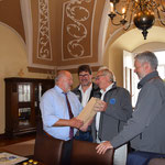 Treffen mit OB Deinege und Vorstand Wheels for Europe
