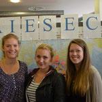 Auch der AIESEC-Stand war vertreten