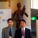 東北理学療法士学術集会で中井先生と 座長を頼まれて仕事をしました