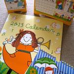2013年定番カレンダー4種