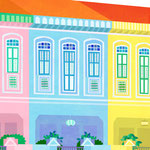 Peranakan houses「Singapore book」(オリジナル)