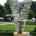 Ausstellungsobjekt Becher Einfach Blume