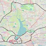 35 km Strecke  (Bild: Andreas Krohn)