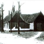 Het huisje van Keizer aan de westkant van de Bovenweg, (thans Herenweg gemeente Alkmaar).