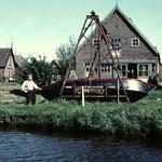 De scheepshelling van Klaas Bruin en later, zoon Jan Bruin. De werf bevond zich in het Noordeinde (Bullepad), tot in de jaren 60.