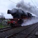 Op 9 april 2005 reden er weer stoomtreinen langs Sint Pancras, net zoals vroeger.