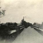 De Mirakelenbrug in de Twuyverweg, ca. 1920.